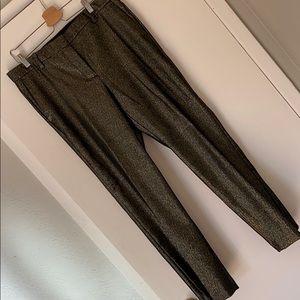 Ann Taylor metallic pants